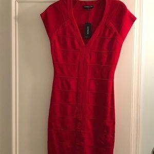 Knit stretch dress - mini